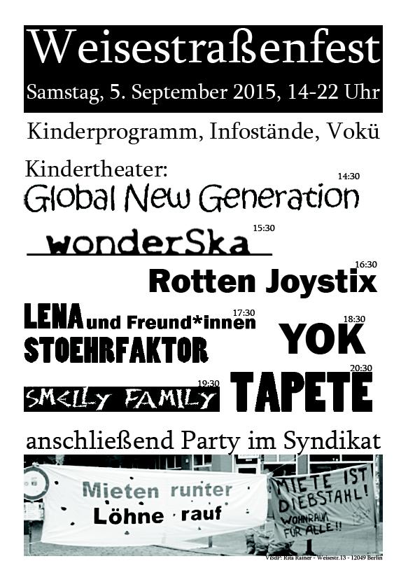Weisestra�enfest 2015