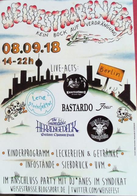 Weisestrassenfest 2018